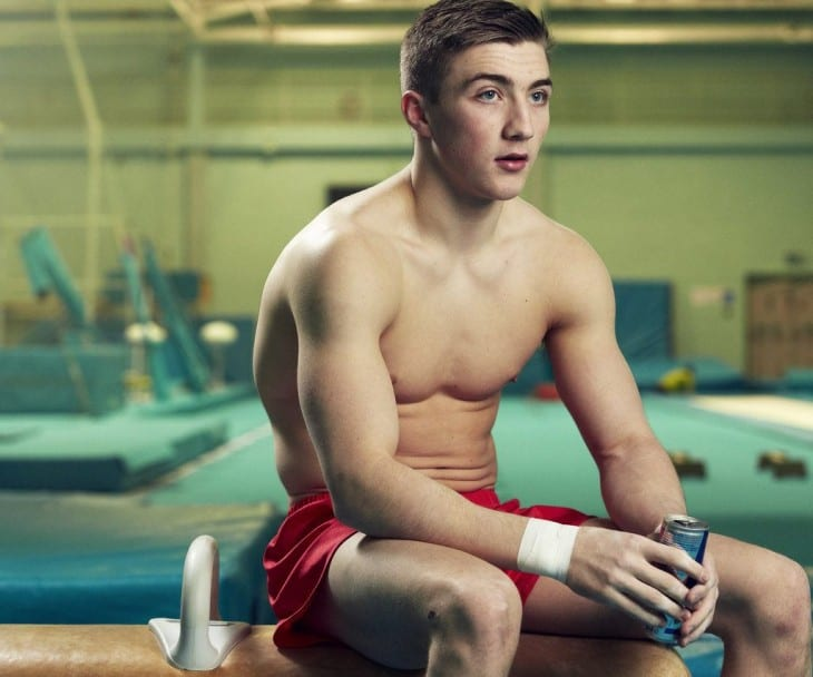 Scally Twink Sam Oldham Shirtless Photoshoot