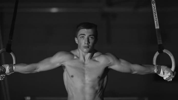 Sam Oldham Shirtless Training Promo