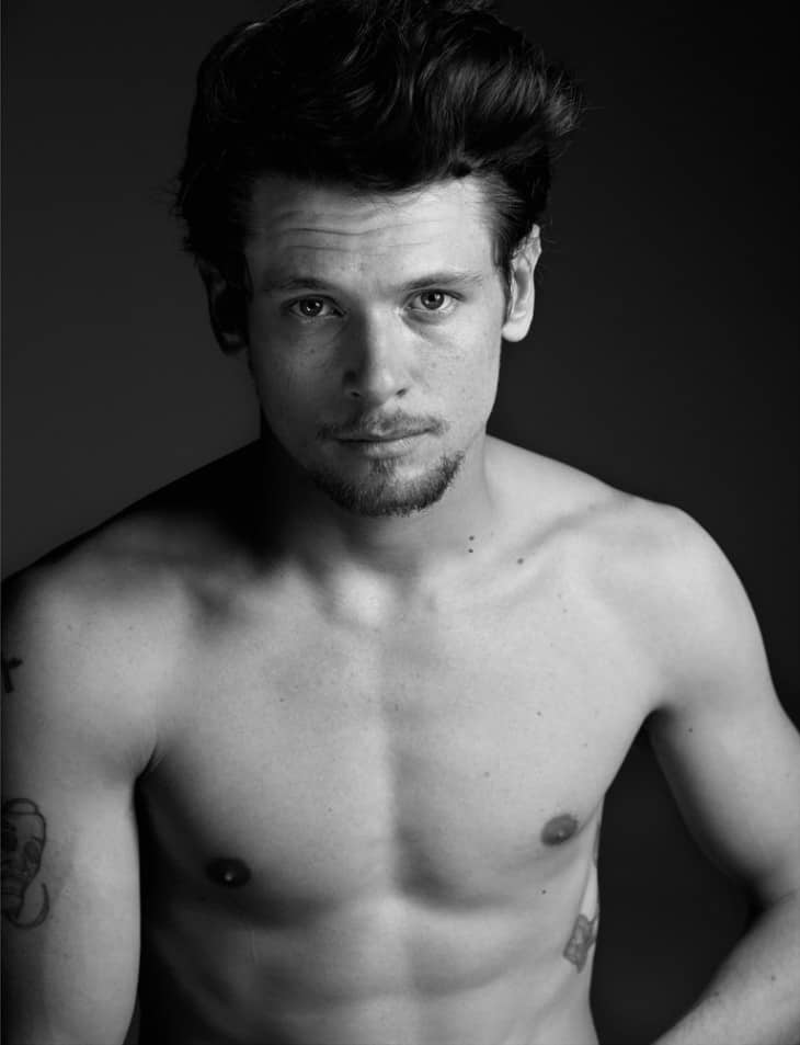 Scally Lad Jack O'Connell Shirtless Photoshoot