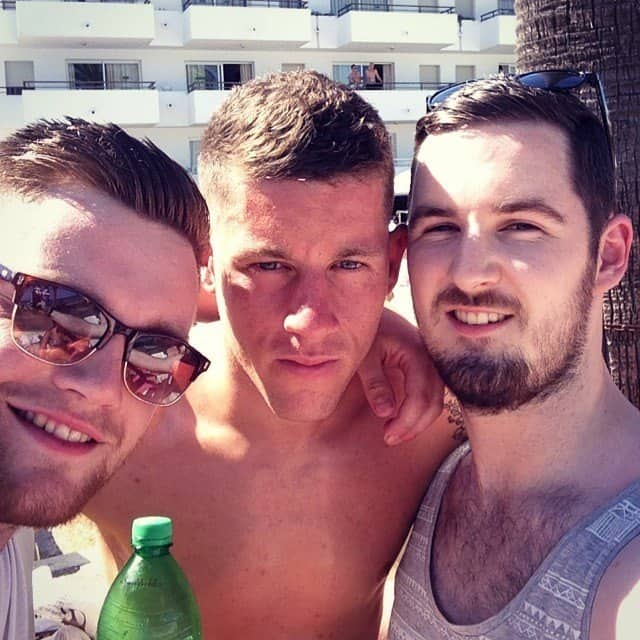 Ross Barkley Shirtless