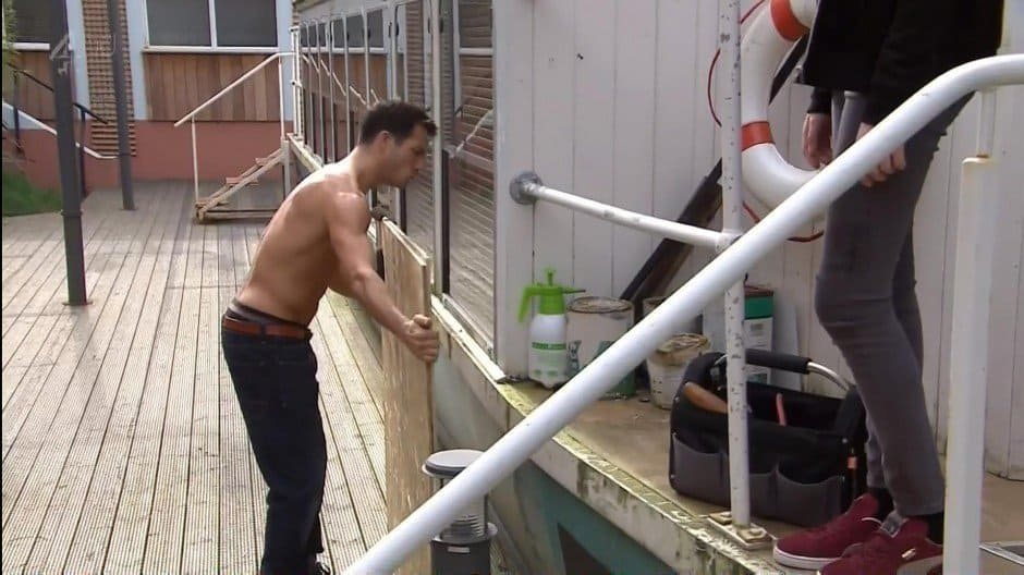Danny Mac Shirtless In Hollyoaks image