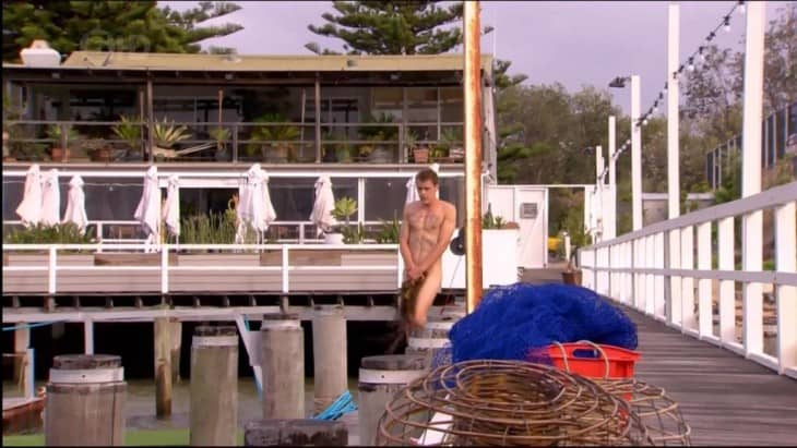 Alec Snow Naked On Home And Away