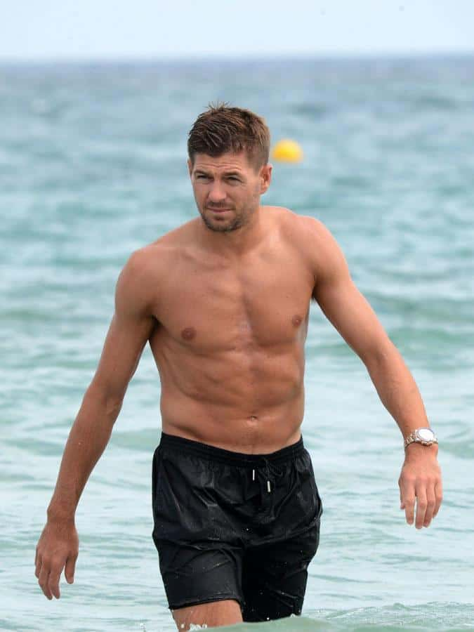 Steven Gerrard Shirtless image
