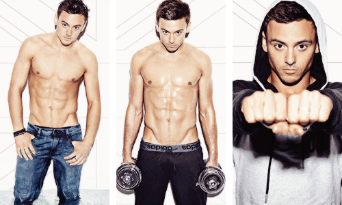 Tom Daley 2015 Calendar Promo Pics