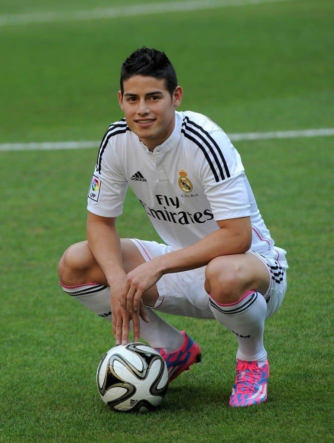James Rodriguez Signs For Real Madrid image