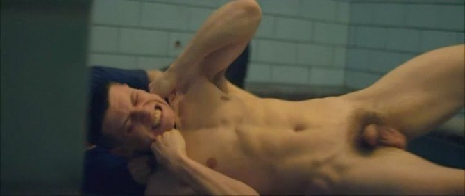 Jack O'Connell Naked In Starred Up