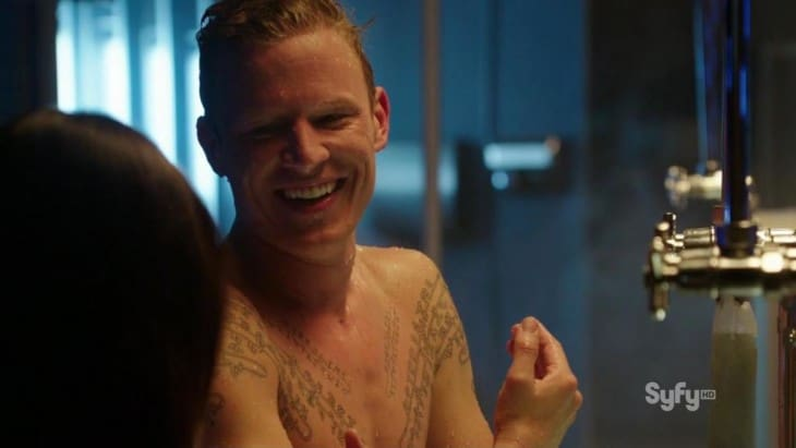 Chris Egan Naked Bum in Dominion, Ex-Home & Away