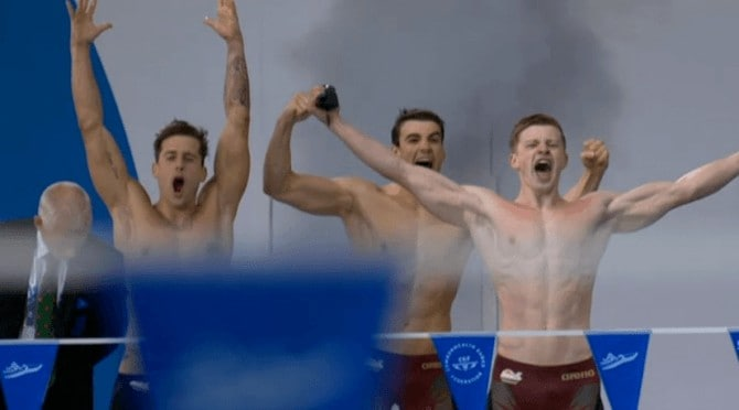 Adam Peaty Shirtless At Commonwealth Games