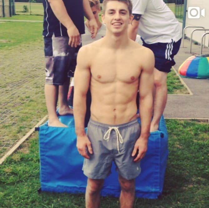 Max Whitlock Ice Bucket Challenge