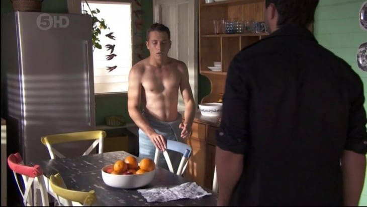 Jake Speer Shirtless On Home and Away