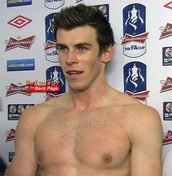 Gareth Bale Shirtless image