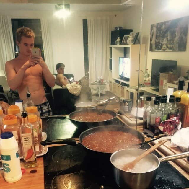 Jack Laugher At Home With Chris Mears
