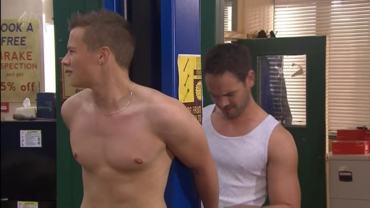 Charlie Wernham Shirtless In Hollyoaks