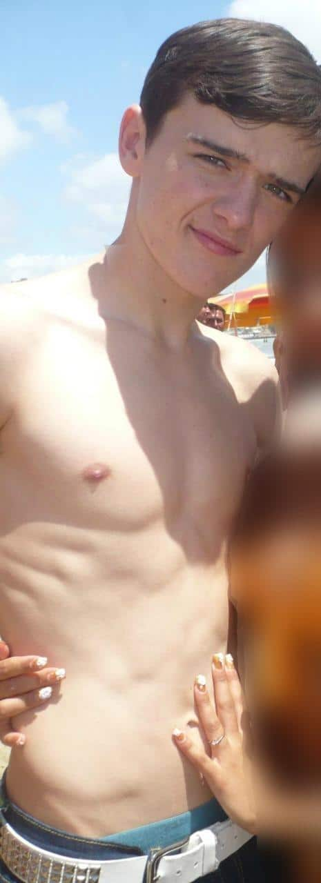George Sampson New Shirtless Pics image