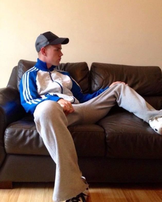 Scally Lads In Trackies image