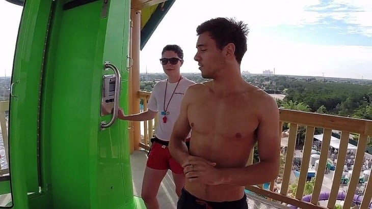 Tom Daley Shirtless Caps