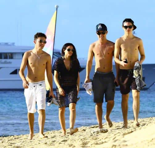 Union J & Nathan Sykes Shirtless On Holiday in Barbados image