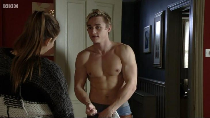 Ben Hardy Shows Off Muscular Body In Eastenders