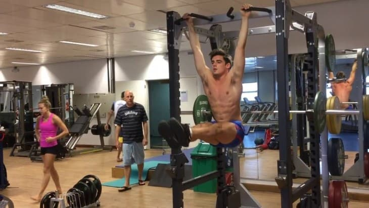 Team GB Chris Mears Workout Screencaps