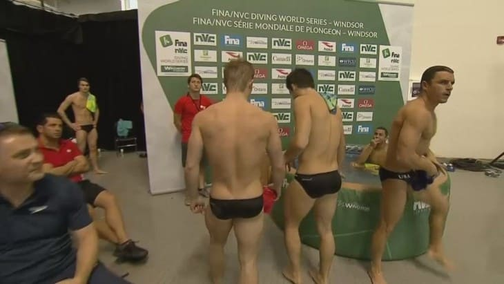Jack Laugher's Bubble Butt