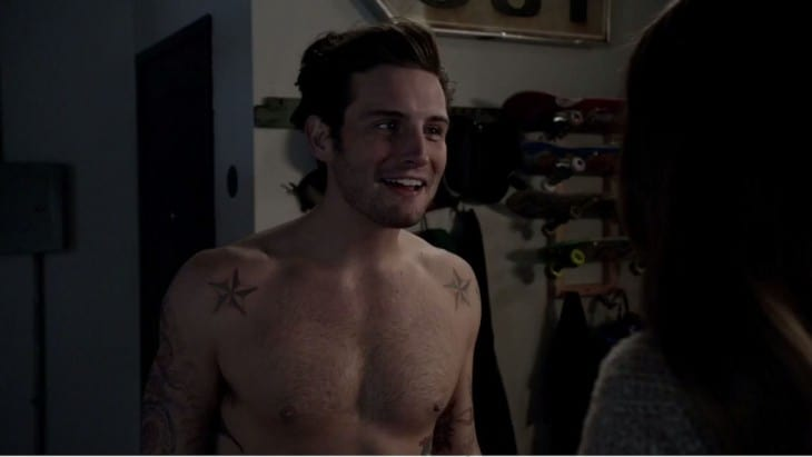 "Nico Tortorella Shirtless in ""Younger"""