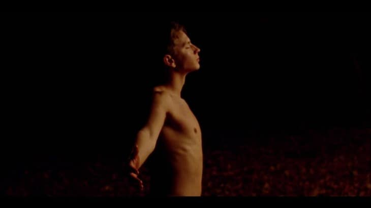 "Connor Brabyn - Shirtless in Music Video ""Heartbeat"""