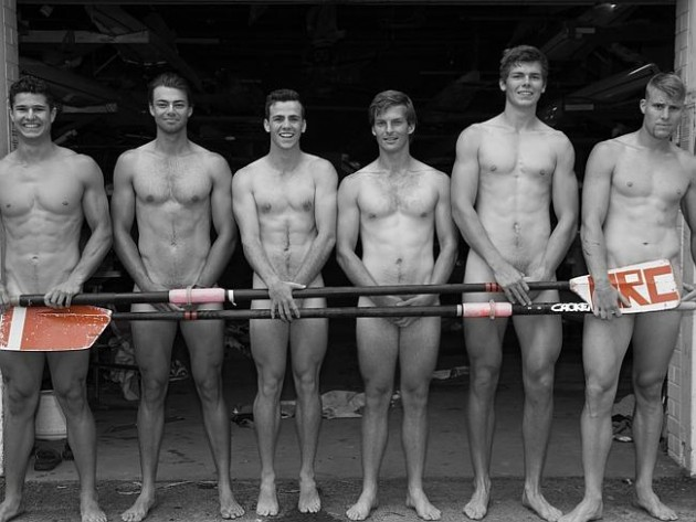 Hot Rowers Get Naked image