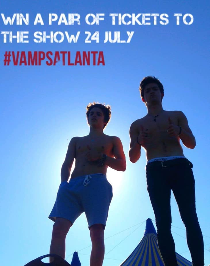 The Vamps Shirtless Twitter Photos image