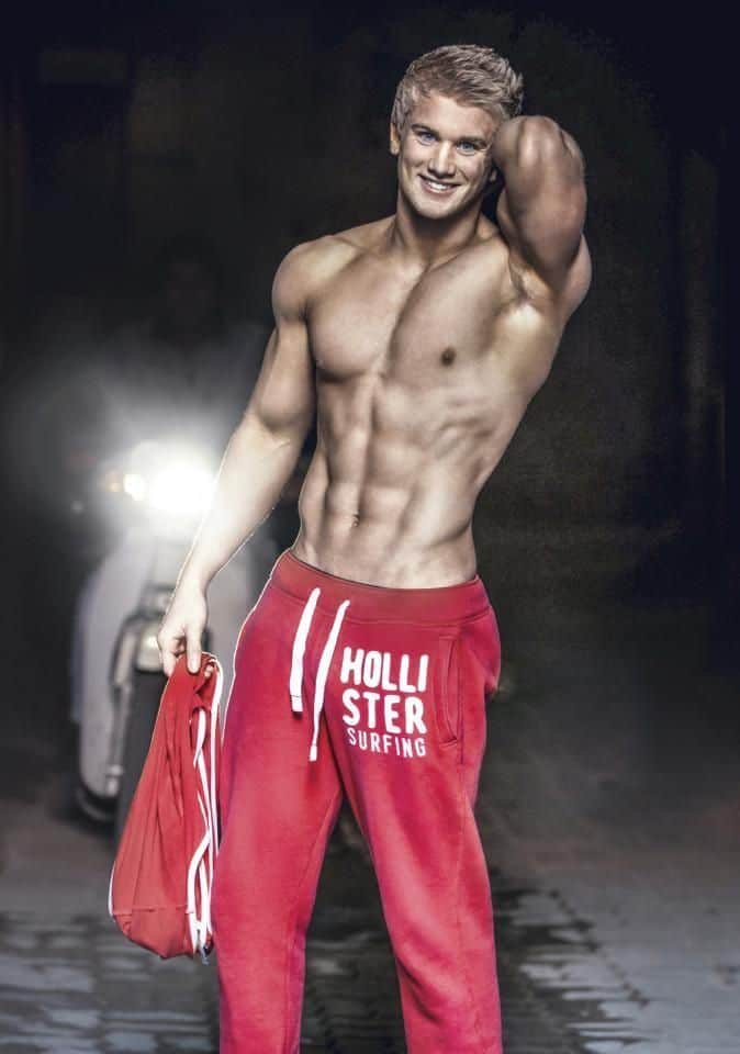 Fit As Fuck Shirtless Model