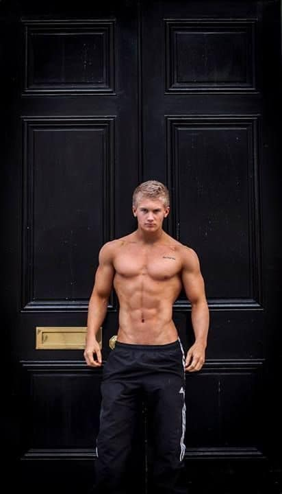 Fit As Fuck Shirtless Model image