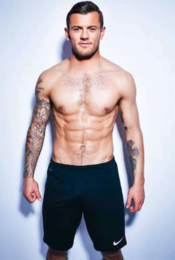 Footballer Jack Wilshere Shirtless image