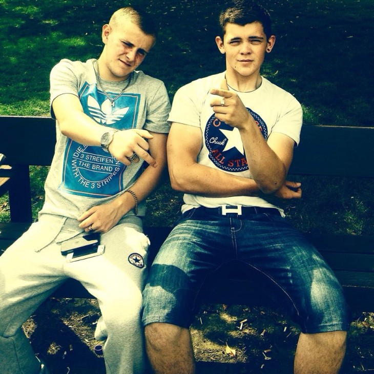 Hot Scally Boys In Trackies image