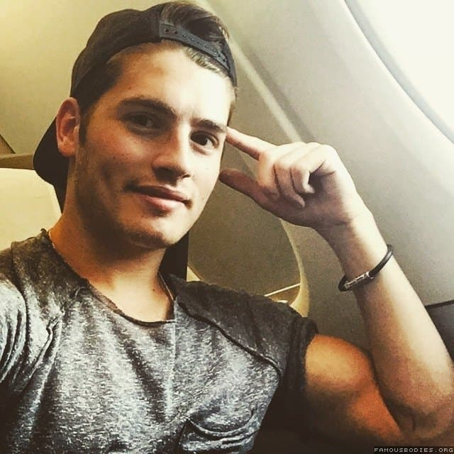 British Actor Gregg Sulkin Shirtless image