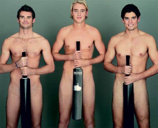 English Cricketers Naked image
