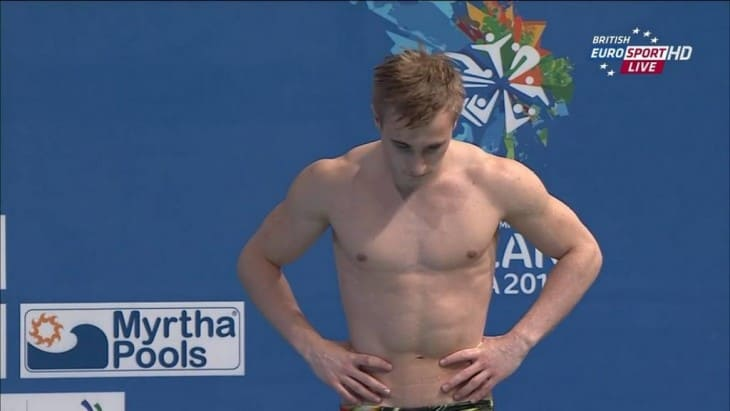 Jack Laugher Diving Shirtless image