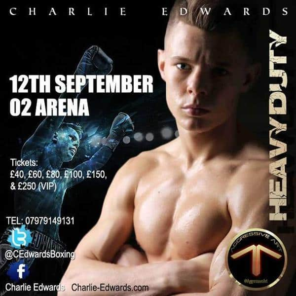 British Boxer Charlie Edwards Shirtless image