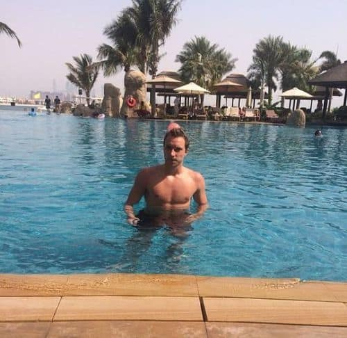 Christian Eriksen Shirtless image