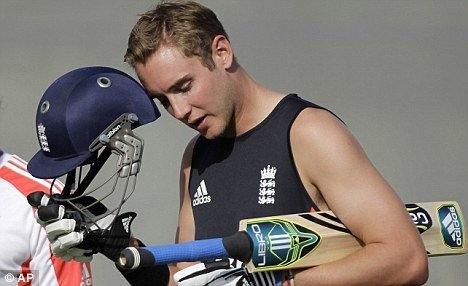 Stuart Broad Shirtless image