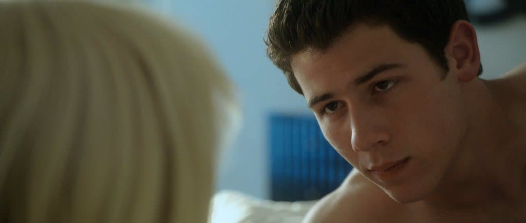 Nick Jonas Shirtless and Naked In Careful What You Wish