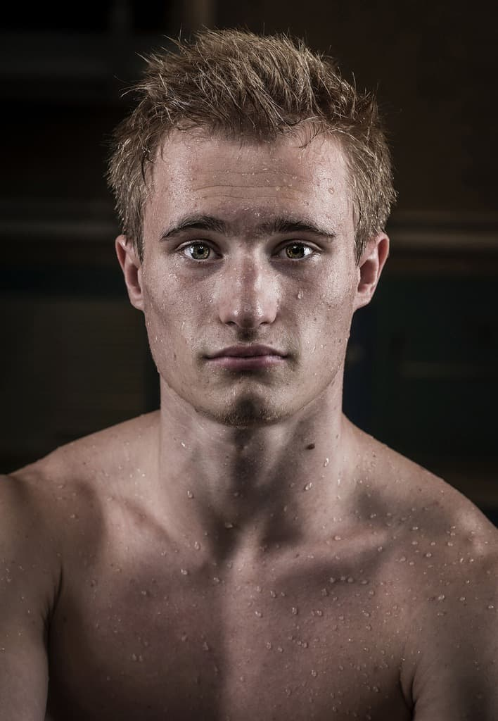 Hot Jack Laugher Shirtless Photoshoot image