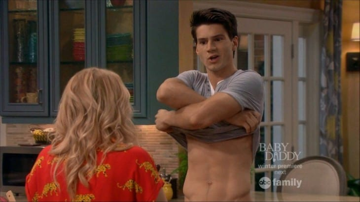 Kevin Fonteyne Shirtless In Melissa & Joey image