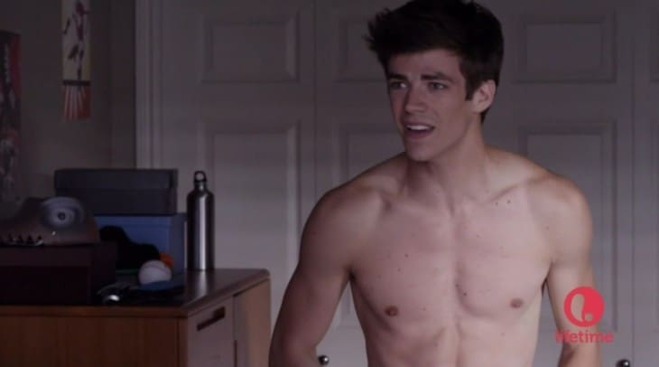 grant gustin shirtless a mother's nightmare