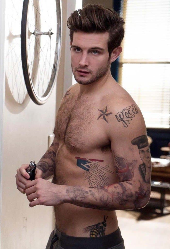 Nico Tortorella Shirtless Mix image
