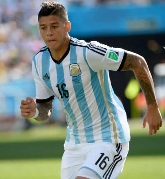 Marcos Rojo Shirtless image