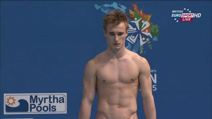 Jack Laugher Diving Shirtless