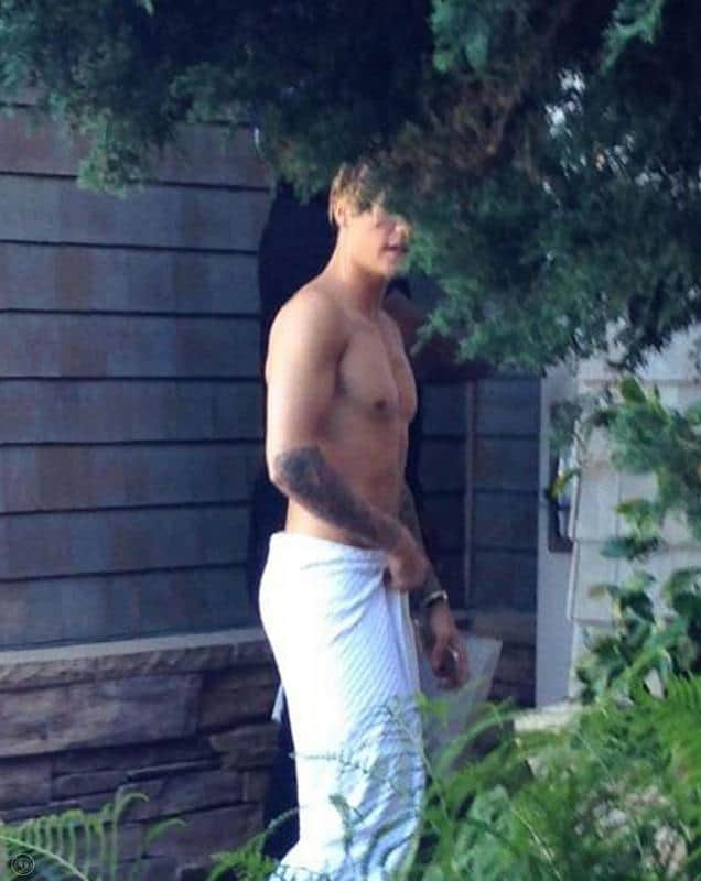 Justin Bieber Shirtless Mix image