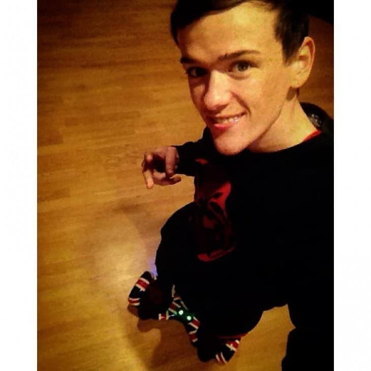 George Sampson Shirtless Instagram