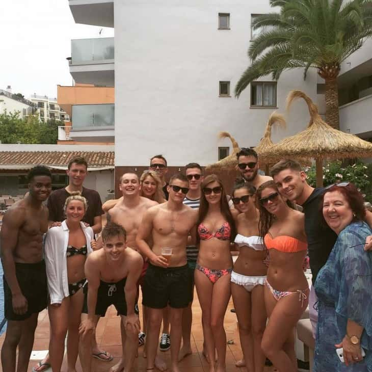 Hollyoaks Lads Shirtless