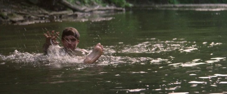 Nick Robinson Shirtless in The Kings of Summer 13