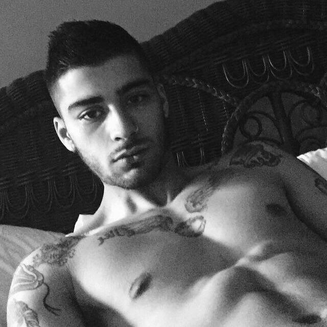 Zayn Malik Shirtless In Bed image